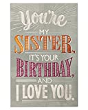 American Greetings Birthday Card for Sister (Deal with It)